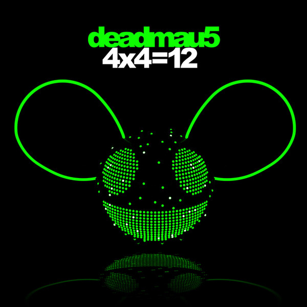 The album cover of deadmau5's 4x4=12 album.