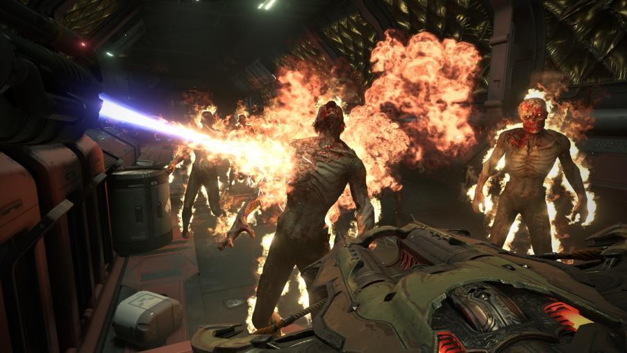 DOOM: Eternal Flamethrower