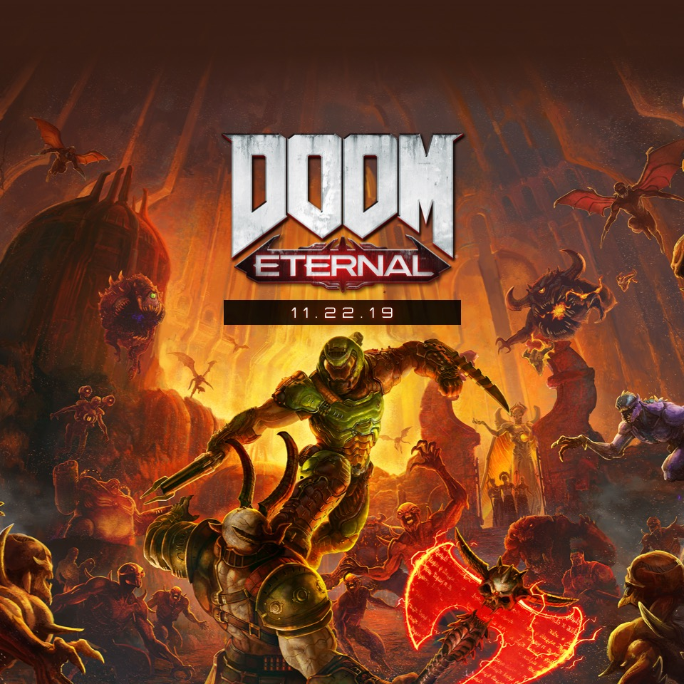 DOOM Eternal Game Artwork