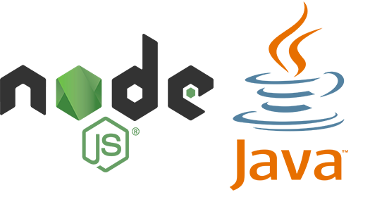 Node JS and Java