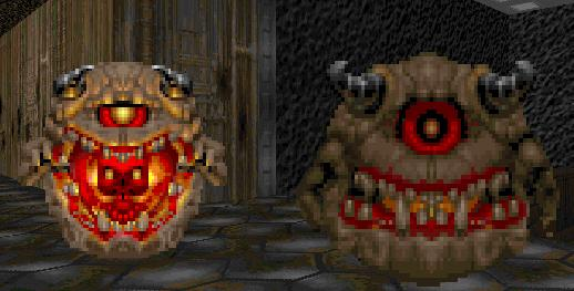 DOOM II Pain Elemental