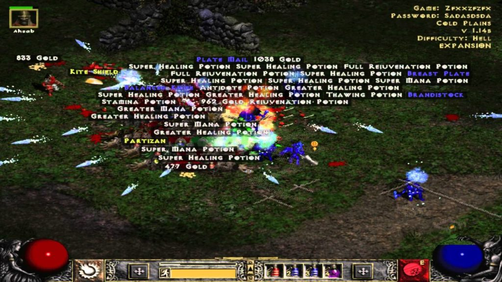 Diablo 2 Loot